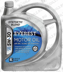 Купить EVEREST Synthetic Blend 5W-30 4 л.