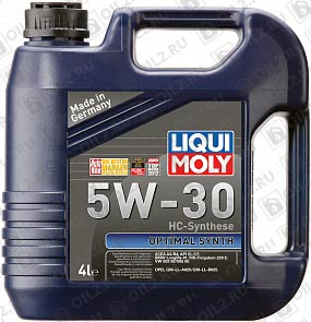 Купить LIQUI MOLY Optimal HT Synth 5W-30 4 л.