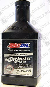 Купить AMSOIL Signature Series Synthetic Motor Oil 5W-20 0,946 л.