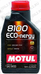 Купить MOTUL 8100 Eco-nergy 5W-30 1 л.