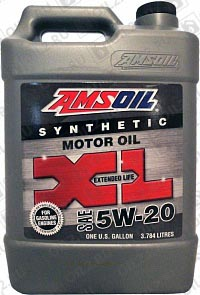 Купить AMSOIL XL Extended Life Synthetic Motor Oil 0W-20 3,785 л.