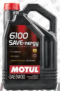 Купить MOTUL 6100 Save-Nergy 5W-30 4 л.