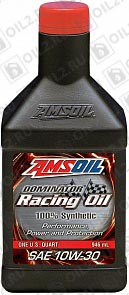 Купить AMSOIL Dominator Synthetic Racing Oil 10W-30 0,946 л.