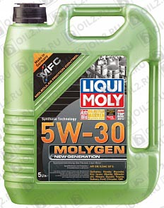 Купить LIQUI MOLY Molygen New Generation 5W-30 5 л.