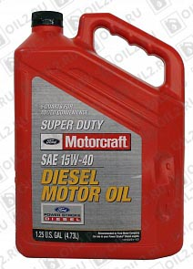 Купить FORD Motorcraft 15W-40 Super Duty Diesel Motor Oil 4,73 л.