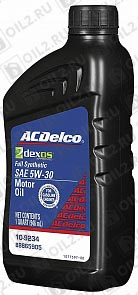 Купить AC DELCO Dexos 1 Synthetic Blend SAE 5W-30 0,946 л.