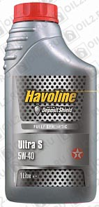 Купить TEXACO Havoline Ultra S 5W-40 1 л.