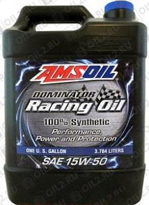 Купить AMSOIL Dominator Synthetic Racing Oil 15W-50 3,785 л.