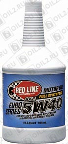 Купить REDLINE OIL 5W-40 Euro-Series 0,946 л.