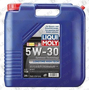 Купить LIQUI MOLY Longtime High Tech 5W-30 20 л.