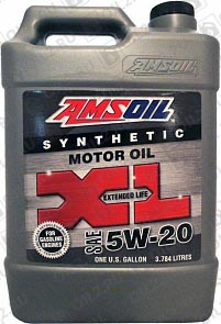 Купить AMSOIL XL Extended Life Synthetic Motor Oil 5W-20 3,785 л.