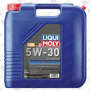 Купить LIQUI MOLY Optimal HT Synth 5W-30 20 л.
