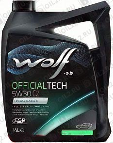 Купить WOLF Official Tech 5W-30 C2 4 л.
