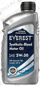 Купить EVEREST Synthetic Blend 5W-30 1 л.