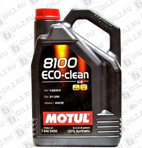 Купить MOTUL 8100 Eco-clean 5W-30 5 л.
