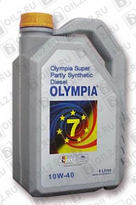 Купить OLYMPIA Super Partly Synthetic Diesel Oil SAE 10W-40 208 л.