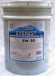 Купить EVEREST Synthetic Blend 5W-30 19 л
