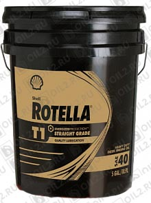 Купить SHELL Rotella T1 SAE 40 18,92 л.