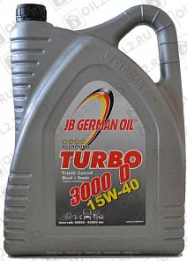 Купить JB GERMAN OIL Turbo 3000D Truck Speed 15W-40 5 л.