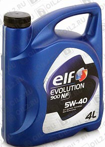 ELF Evolution 900 NF 5W-40 4 л.
