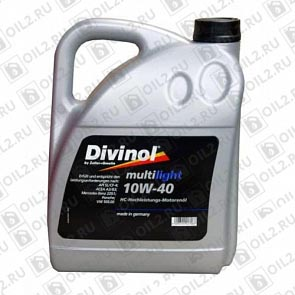 Купить DIVINOL Multilight 10W-40 5 л.