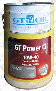 Купить GT-OIL Power CI 10W-40 20 л.