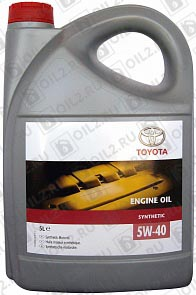 Купить TOYOTA Engine Oil Synthetic 5W-40 5 л.