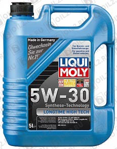Купить LIQUI MOLY Longtime High Tech 5W-30 5 л.