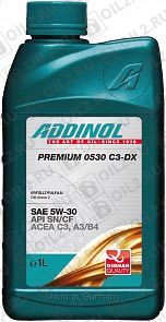 Купить ADDINOL Premium 0530 C3-DX 5W-30 1 л.