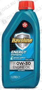 Купить TEXACO Havoline Energy 0W-30 1 л.