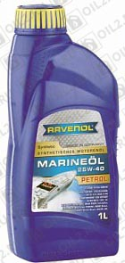 Купить RAVENOL Marineoil Petrol 25W-40 synthetic 1 л.