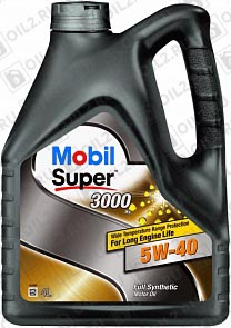 Моторное масло Mobil Super 3000 X1 5W-40 4 л.