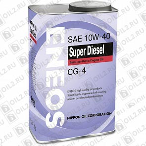 Купить ENEOS Super Diesel Semi-Synthetic 10W-40 0,946 л.