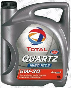 Купить TOTAL Quartz INEO MC3 SAE 5W-30 5 л.