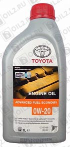 Купить TOYOTA Motor Oil 0W-20 EU Advanced Fuel Economy 1 л.