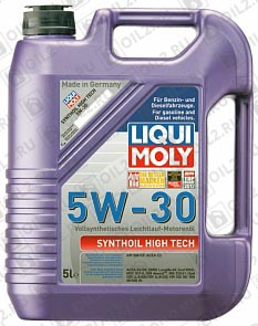 Купить LIQUI MOLY Synthoil High Tech 5W-30 5 л.