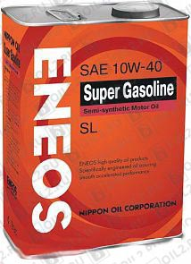 Купить ENEOS Super Gasoline SL Semi-Synthetic 10W-40 4 л.