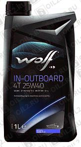 Купить WOLF In-Outboard 4T 25w-40 1 л.