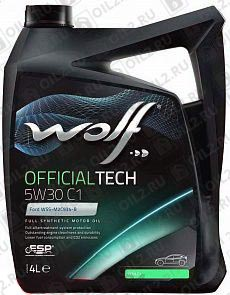 Купить WOLF Official Tech 5W-30 C1 4 л.