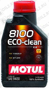 Купить MOTUL 8100 Eco-clean 5W-30 1 л.