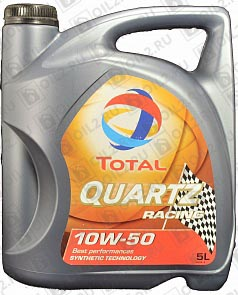 Купить TOTAL Quartz Racing 10W-50 5 л.