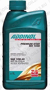 Купить ADDINOL Premium Star MX 1048 SAE 10W-40 1 л.