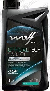 Купить WOLF Official Tech 5W-30 C1 1 л.