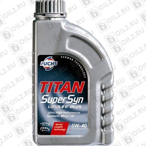 Купить FUCHS Titan Supersyn Longlife 5W-40 1 л.