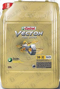 Купить CASTROL Vecton Fuel Saver 5W-30 E6/E9 20 л.