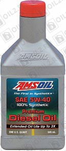 Купить AMSOIL Premium Synthetic Diesel Oil 5W-40 0,946 л.