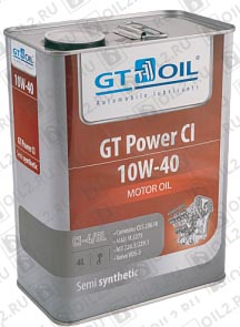 Купить GT-OIL Power CI 10W-40 4 л.