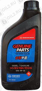 Купить SSANGYONG Diesel/Gasoline Fully Synthetic Engine Oil 5W-30 1 л.