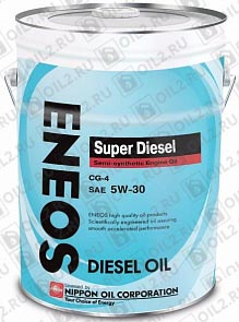 Купить ENEOS Super Diesel Semi-Synthetic 5W-30 20 л.