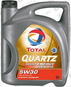 Купить TOTAL Quartz 9000 Energy HKS G-310 SAE 5W-30 5 л.